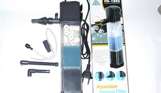 Tipos de filtros para los acuarios for Filtro para pecera