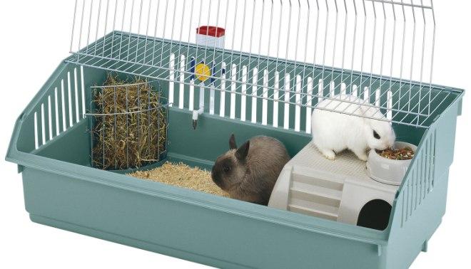 Elegir y preparar la jaula para el conejo - Casa conejo ...