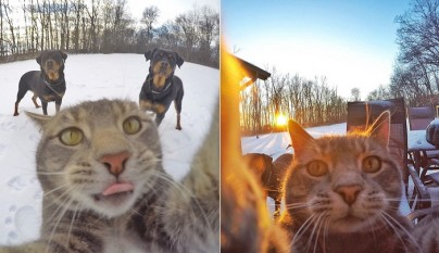 Manny selfies